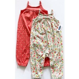 NWT Old Navy Jumpsuit Set Size 12-18 Months